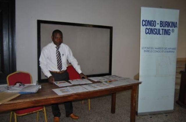 Le Fondateur de Congo-Burkina Consulting, Charles NZAMBA.