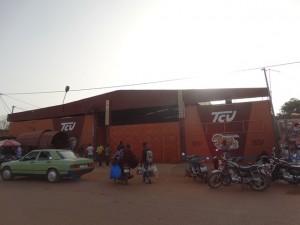 La gare TCV de Ouagadougou