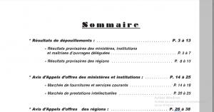 Capture DU 15 Sommaire