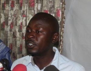 Saidou Sinaré, porte parole des ex-travailleurs