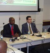 Paul Kaba Thiéba lors de la rencontre avec les partenaires  © Service presse ambassade du Burkina aux Etats-Unis