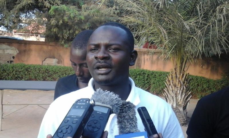 Soumaila Zongo, coordonnateur du GAPEC