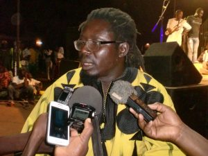 Aristide Tarnagda, directeur artistique du festival