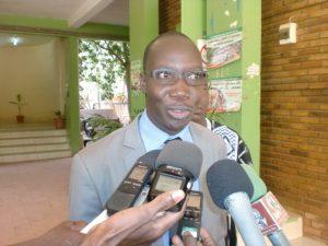 Simon Ilboudo, le président du comité d'organisation