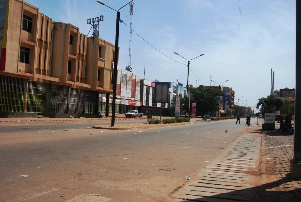 L'avenue Kwamé Nkrumah à Ouagadougou - Image d'illustration