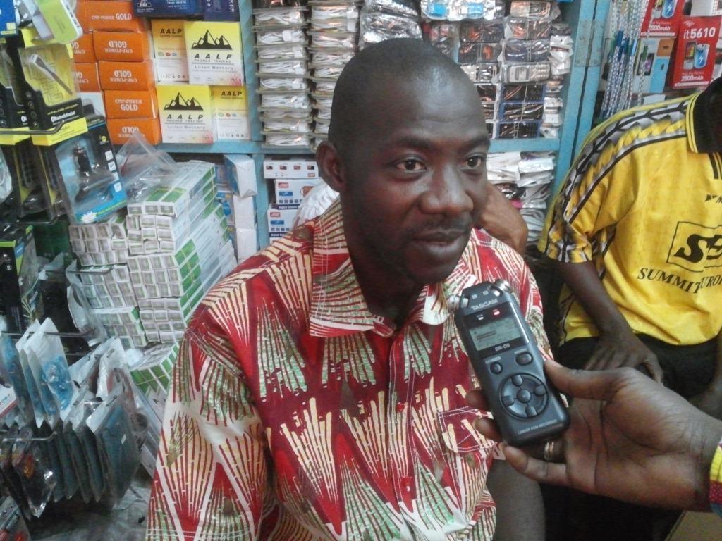 Koussoubé Amidou, président du collectif des associations des commerçants du marché central de Bobo-Dioulasso