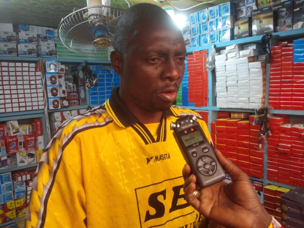 Bachirou Yaméogo, commerçant à Bobo-Dioulasso