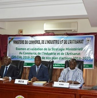 Validation de la stratégie ministérielle en charge du commerce