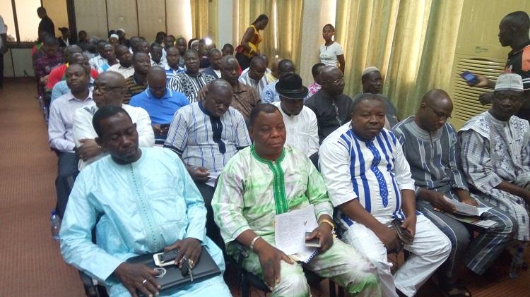 Des représentants du monde économique présents à l'assemblée constitutive – B24