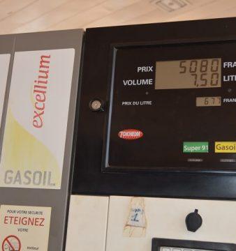 Hausse du prix du carburant