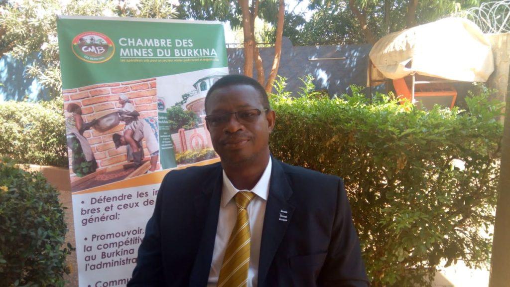 Seydou Ouédraogo, Président de la commission environnement, santé et sécurité au travail à la Chambre des mines