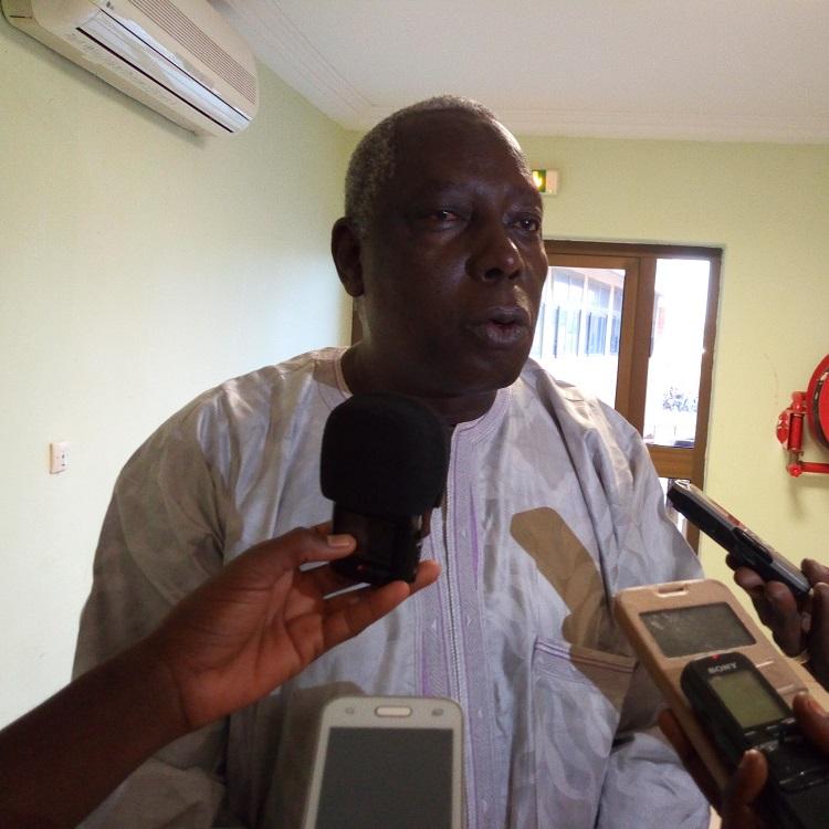 Jean Marie Bonkoungou, consultant chargé d'appuyer le comité technique dans l'évaluation MAPS