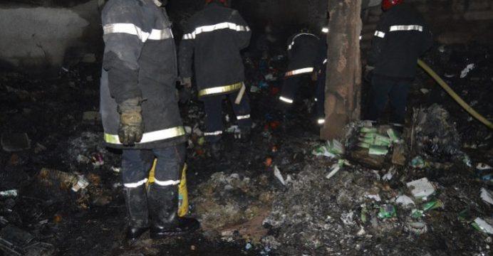 Ouagadougou : Un magasin dans le quartier St Joseph part en fumée