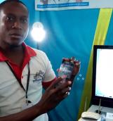 Serge Auguste Zaonga, formateur en électronique industrielle au CFPR-Z,