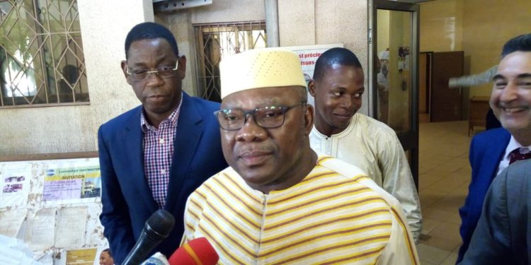 """""""Nous soutenons fortement ce projet et notre engagement à travailler en partenariat avec le projet"""", explique Oumarou IDANI"""