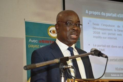 Adama Badolo, Directeur général des impôts