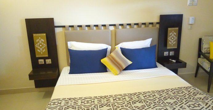 Une chambre de Dunia hôtel