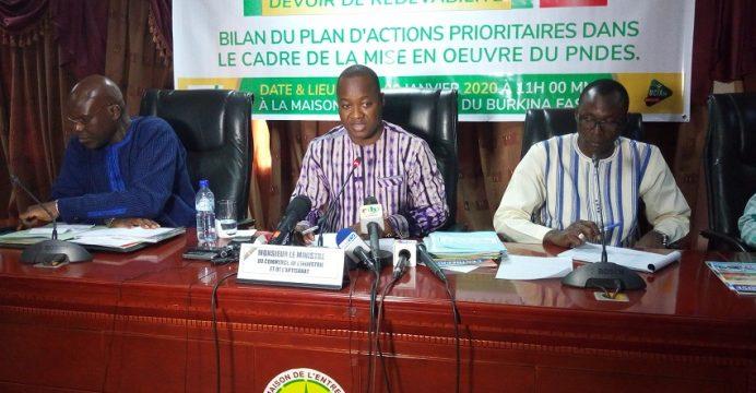 Le ministère en charge du commerce dresse son bilan de 2019