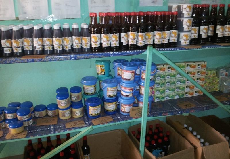 Le miel du Gourma, un label et des produits dérivés.