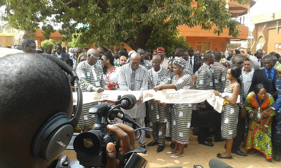 Le président du Faso Roch Kaboré a président à l'ouverture officielle de la 14e Edition du Salon international de l'artisanat de Ouagadougou © Radio Oméga