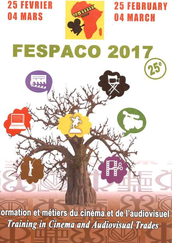 Visuel du FESPACO 2017