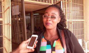 Alice Kabré, commerçante