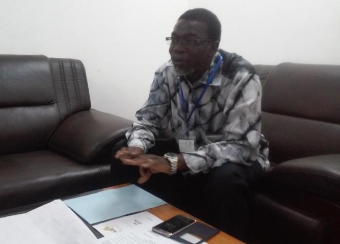 Le Directeur général de la SONATUR, Claude Obin Tapsoba