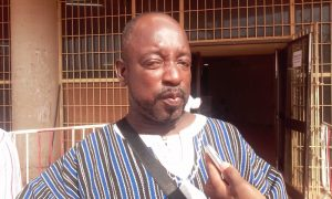 Koanda Saibou, président national du Syndicat des libraires et assimilés