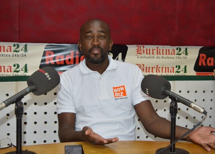 Ismaël Ouédraogo, manager général de Bon Biz