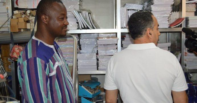 Le Ministère en charge du commerce a initié un contrôle spécial dénommé « contrôle rentrée scolaire »