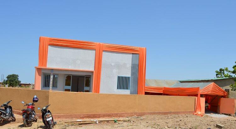 Paul Koné a été le sacré lauréat de la villa CGE de type F3 d'une valeur de 17 millions de F CFA
