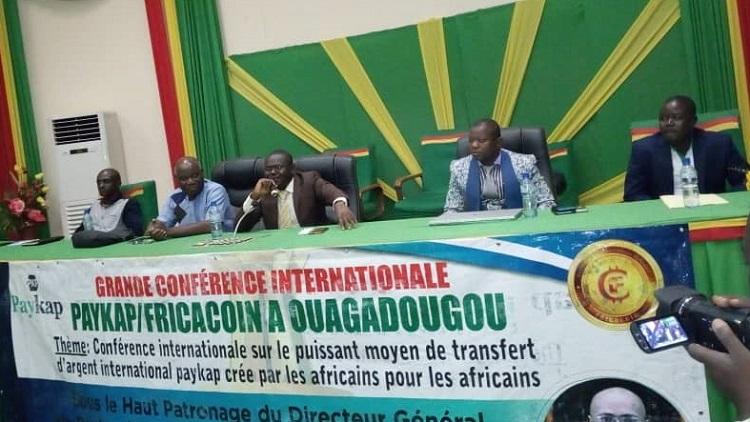 La conférence internationale sur Fricacoin