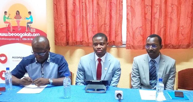 La signature de convention entre Beogo Lab et l'université Joseph Ki-Zerbo
