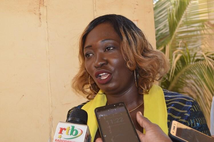 Carole Sandwidi, bénéficiaire de 6 millions de F CFA