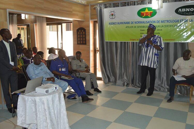 Dr Jean Paul Karama, directeur de la normalisation et de la certification