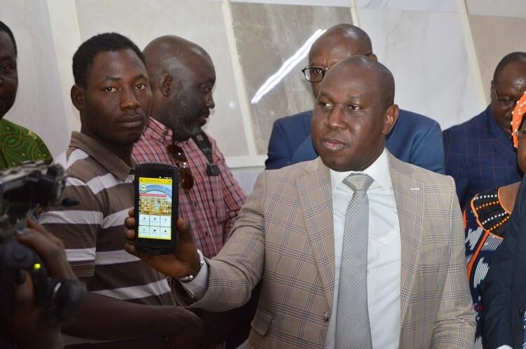 Harouna Sawadogo, le prestataire chargé de la collecte des informations