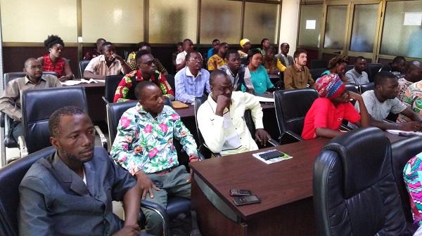 Les représentants des PME/PMI pour la deuxième session de formation sur l'efficacité énergétique
