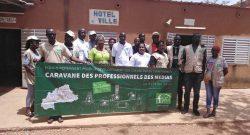Une visite guidée des installations de l'abattoir municipal moderne de Koudougou
