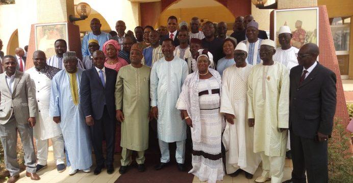 Une délégation de la Chambre de commerce chez Alassane Bala Sakandé
