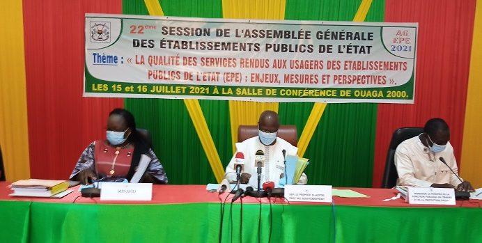 Assemblée générale des Établissements publics de l'État (EPE)